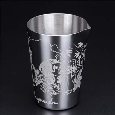 Stainless Steel Stirring Tin 500ml Mixing Glass Preferred by Pros and Amateurs Alike, Make Your Own Specialty Cocktails Tools