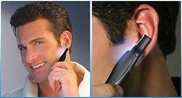 Afeitadora Micro Touch patillas Barba nariz Peli a forma de lápiz con ...