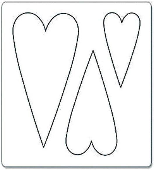 B /& W Sizzix Bigz Fustella Heart # 3