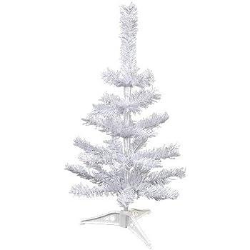 mini white table top tree 18in - Mini White Christmas Tree