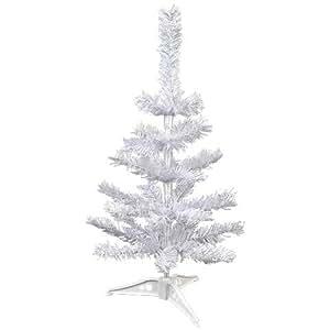 Mini White Table Top Tree 18in