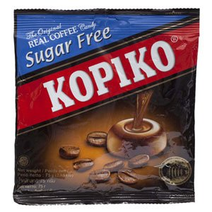 Kopiko, The Original Real Coffee Candy, Sugar Free, 150 g (75 g x 2) (Coffee Rio Sugar)