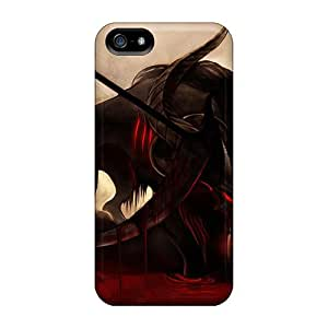 MichelleCumbers Iphone 5/5s Hybrid Cases Covers Bumper Blood Reaper
