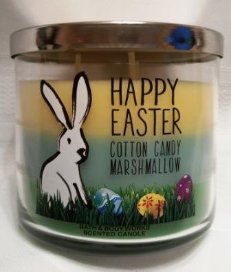 Bath & Body Works Happy Easter Cotton Candy Marshmallow C...