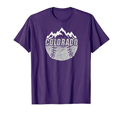 Colorado Baseball Rocky Mountains Design - Rockies Classic Shirt Colorado