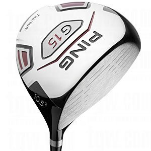 Used Ping G15 Driver 10.50 Degrees Graphite Stiff Left