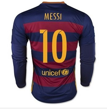 Superb Barcelona Home Messi Kids 10 Soccer Kit Long Sleeve Jersey And Short Hairstyles For Black Women Fulllsitofus