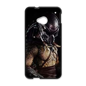 HTC One M7 Phone Cases Black Predator ERG724650