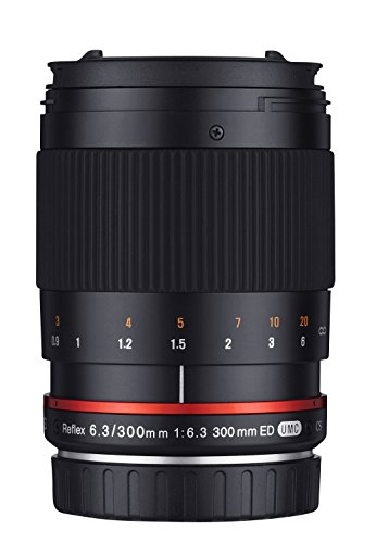 - Samyang 300 mm Mirror F6.3 Lens for Micro Four Thirds