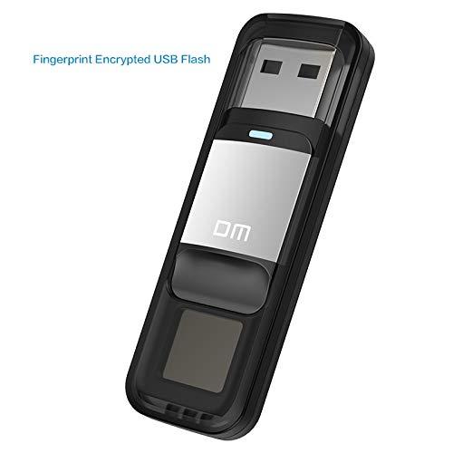 Dm Pd061 Usb3.0 6U Disk Storage Device USB Flash Drive Pen Drive with Fingerprint Encryption Function Golden / Sliver C