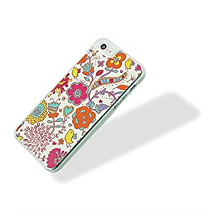 Pc Plastic Hard Back Case Skin Cover Colorful Flower For Apple Iphone 5S-