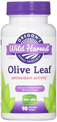 Oregon's Wild Harvest Olive Leaf  Capsules, Non-GMO Herbal Supplements (Packaging May Vary), 90 Count Review
