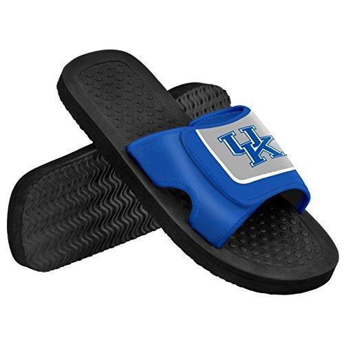 Ncaa Flip Flops (Kentucky NCAA Mens Shower Slide Flip Flops X-Large)