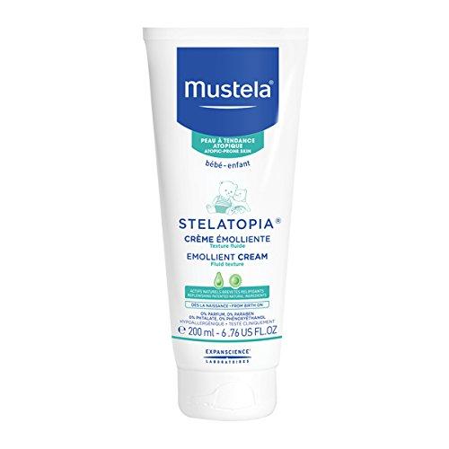 Mustela Stelatopia Moisturizing Emollient Cream for Eczema-Prone Skin, 6.7 oz.