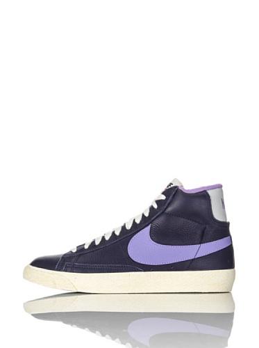 Nike  lunareclipse 4, Baskets mode pour femme Gris midnight navy atomic violet