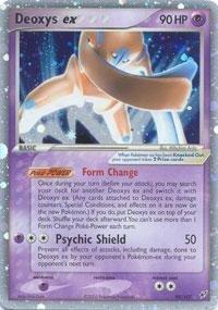 - Pokemon - Deoxys ex (Defense) (99) - EX Deoxys - Holofoil