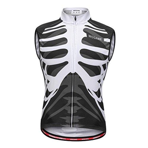 哲学的吸う飛行場Fityle サイクリング ベスト ショート ノースリーブ ジャージー トップ Tシャツ ロードバイク スポーツ コート 全5サイズ