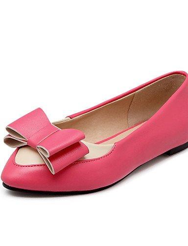 us10 cn43 5 cn43 5 Planos 5 Semicuero Negro 5 Zapatos Bailarina Puntiagudos pink uk8 pink eu42 de 5 mujer uk8 Tac¨®n eu42 Azul Rojo Rosa us10 Casual cn35 Plano uk3 us5 ZQ 5 eu36 black BgRqpp