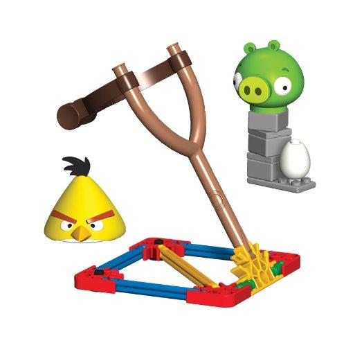 K'NEX Angry Birds Yellow Bird versus Medium Minion Pig