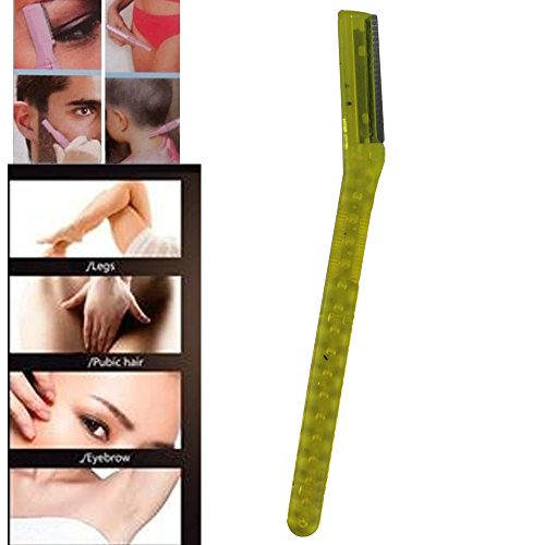 IebeautyTinkle Eyebrow Razor Trimmer Shaper Shaver Pack of 3/6/9 Pcs (9pcs)