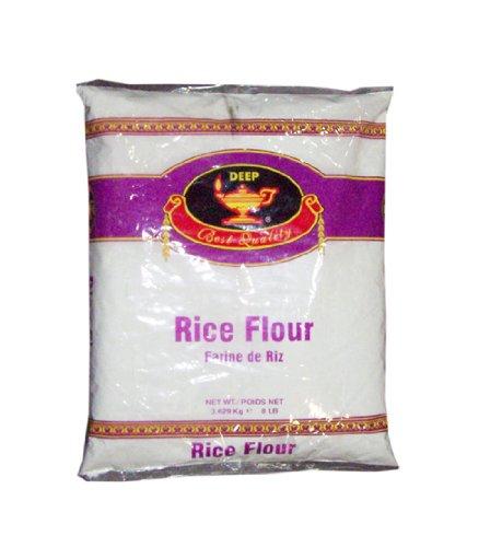 Rice Flour 8lb by Deep Flour