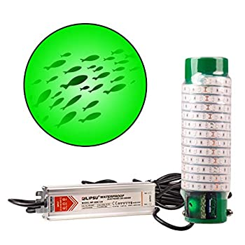 Image of Attractants Green Blob Outdoors New Fishing Light (Green 7500 Lumen) Underwater, w/ 30ft Cord, LED, Fish Attractor, Crappie, Snook, Bass, Catfish (7,500 3-Prong Plug, Green)
