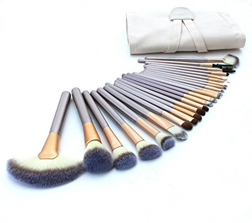 Professional Cosmetics Foundation Brushes Cream colored product image