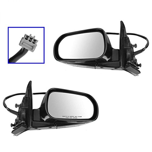 Prime Choice Auto Parts KAPHO1320125PR Pair of Power Manual Folding Side Mirrors