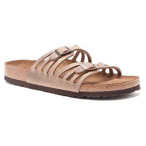 f45ed949a620 Birkenstock Women's Granada Soft Footbed Sandal,Tobacco Oiled ...