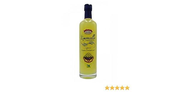 Piemme - Limoncello di Sorrento IGP 70 cl (Licor de Limón): Amazon ...