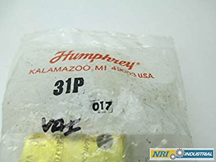 NEW HUMPHREY 31V 8078042 TAC2 SWITCH 1//8 IN NPT PNEUMATIC VALVE MANIFOLD D303573