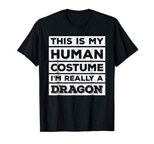 Human Costume Dragon Fire Breathing Beast Wings T-Shirt]()