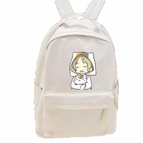 rare Schultertasche Tasche Shoulder Bag Rucksack reisetaschen Bräunen Frau Natsume Yuujinchou Book of friend new