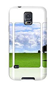 Galaxy S5 Case Cover With Shock Absorbent Protective QLfnsbR7276ZPbIX Case