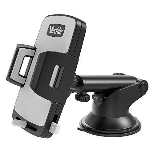Car Phone Mount, Veckle Dashboard Cell Phone Ho...