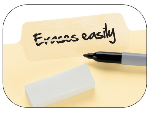 Smead Erasable SuperTab® File Folders, Erasable 1/3-Cut Tabs, Letter, Manila, 24 per Pack (10380) Photo #4