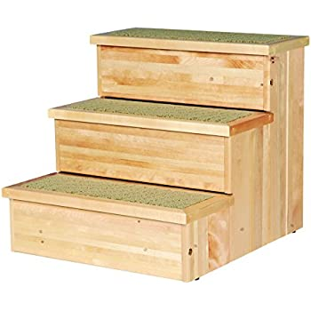 Amazon.com : PetSafe Solvit PupSTEP Wood Pet Stairs, X