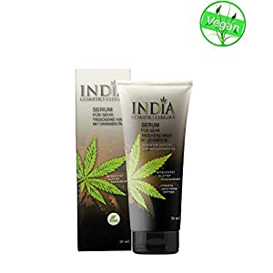 Skin Serum cream with cannabis oil for very dry sk...