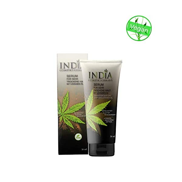 Skin Serum cream with cannabis oil for very dry skin can relieve atopic dermatitis premium quality