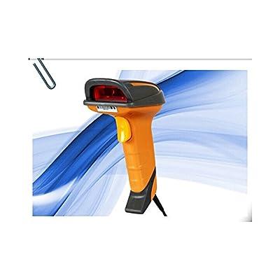 Portable Handheld USB Laser Barcode Bar Code Scanner Decoder Reader 4 POS+ Cable