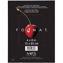MCS 6x8 Inch Format Frame, Black (47356)