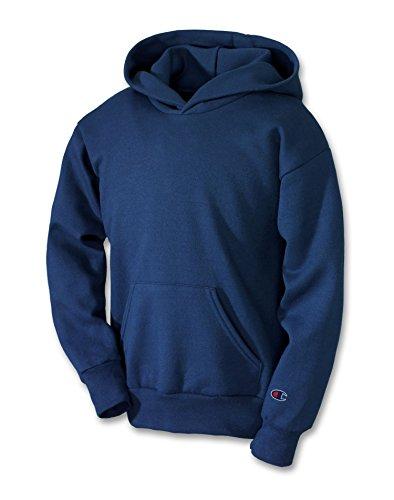 Champion Boys Boys' Big Powerblend Eco Fleece Pullover Hoodie, Navy S
