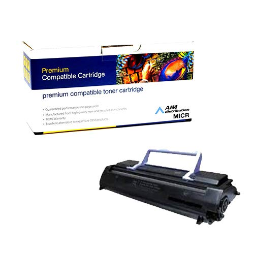 AIM Compatible MICR Replacement for Lexmark Optra E Toner Cartridge (3000 Page Yield) (69G8256) - Generic