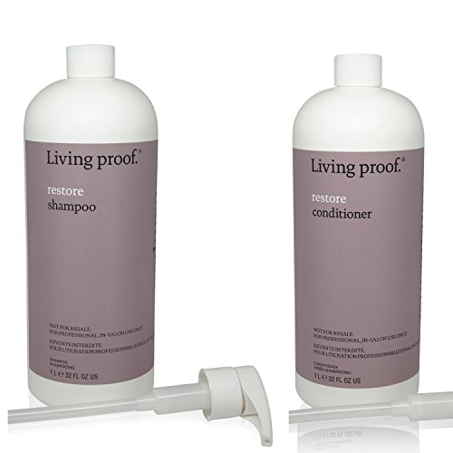 Living Proof Restore Shampoo and Conditional Combo 32 oz by Living Proof