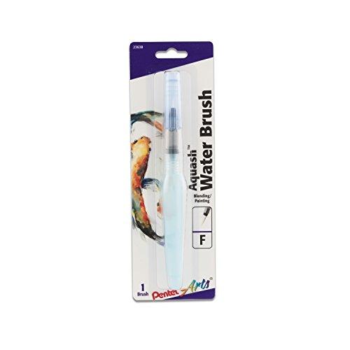 Pentel Arts Aquash Water Brush, Small Brush, Fine Point Tip,  1 Pack (FRHFBP)
