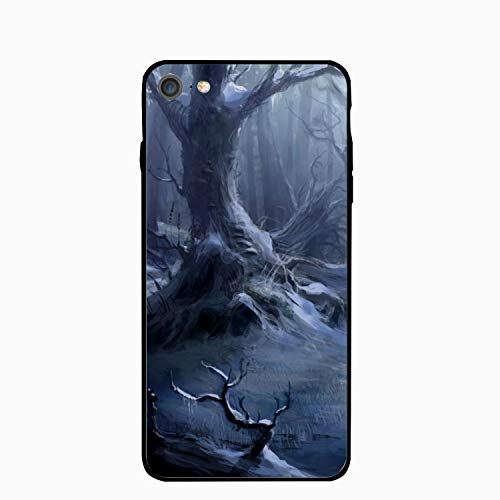 Personalized Dark Creepy Horror Spooky Scary Halloween Forest iPhone 6/6s Case [4.7 inch] -