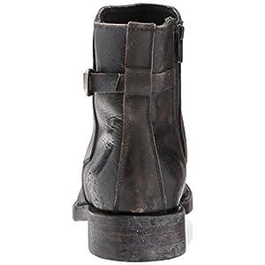 FRYE Men's Folsom Moto Motorcycle Boot, Black, 9.5 D US