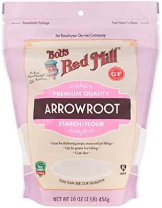 Flours & Meals: Bob's Red Mill Arrowroot Starch