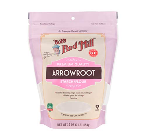 Bob's Red Mill Arrowroot Starch / Flour, 16-ounce (Arrowroot Powder Lb 1)