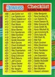 Amazoncom 1991 Donruss Baseball Card 600 Checklist 409 506 Mint
